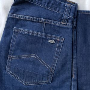 Armani Exhange Relaxed Straight Jeans